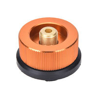 Picnic Burner Cartridge Gas Fuel Canister Stove Cans Adapter Converter Head EFC