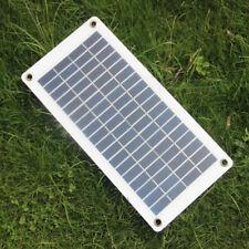 12V Car Boat Battery Solar Pannel Charger Alligator Clip & Car Lighter Cable