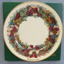 Lenox China Colonial Christmas Collectors Plate 1982 Massachusetts 2nd Ed in Box