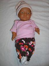 "Unmarked Anatomically Correct 16"" Vinyl Newborn Girl Doll, Educational or Reborn"