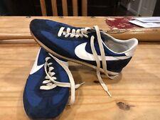 Vintage Rare 1982 Nike Oceania Mens Size 9.5 Blue White Waffles Cortez Free Ship
