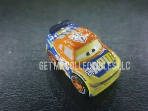 DISNEY PIXAR CARS DIE CAST MINI RACERS RPM BRUCE MILLER BOX #30 FREE SHIP $15+