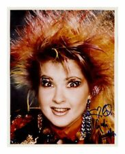 CYNDI LAUPER SIGNED AUTOGRAPHED A4 PP PHOTO POSTER