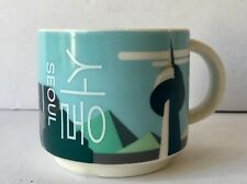 Starbucks Korea Seoul Tower Mug Becher Tasse 89ml SKU