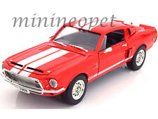 ROAD SIGNATURE 92168 1968 68 SHELBY GT 500KR GT500KR 1/18 DIECAST MODEL CAR RED