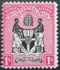 More details for bca/nyasaland 1896 one shilling sg 36 mint