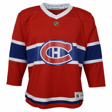 Infant 12-24 Months Montreal Canadiens Red Premier Crest Blank Hockey Jersey