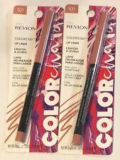 (2) Revlon Color Change Colorstay Lip Liner, 101 Spicy