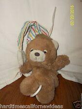 TEDDY BEDDY PAJAMA BEAR MUSICAL CRIB PULL TOY PLUSH