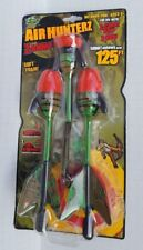 Air Hunterz A-Ammo Shoot Arrows 125Ft 3 Super Soft Screaming Whistle Action New