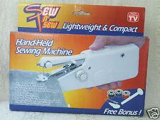 Sew N Sew Hand-Held Lightweight & Compact Sewing Machine