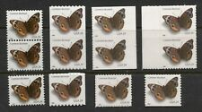 UNITED STATES 2006 COMMON BUCKEYE BUTTERFLY, Sc 4000,4001, 4001a, 4002. LOT MNH