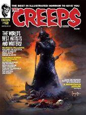 THE CREEPS MAGAZINE #12 CREEPY EERIE TALES FRANKENSTEIN'S MONSTER FRANK FRAZETTA