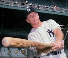"""Mickey Mantle - 8"""" x 10"""" Photo - 1960's - Yankee Stadium - New York"""
