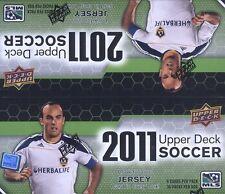 2011 Upper Deck MLS Soccer Retail Box
