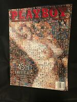 Vintage Playboy Magazine January 1999 Collectors Edition 45th Anniversary Issue