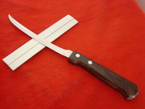 """Imperial Made in USA 8-5/8"""" Kitchen Fixed Blade Tomato Knife MINT"""