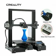 UK Stock Creality Ender 3 Pro 3D Printer Magnetic Sticker MeanWell Power DC 24V