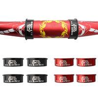 .4pcs Bicycle Handlebar Shim Stem Reducer Aluminum Alloy Adapter 31.8mm To 35mm.