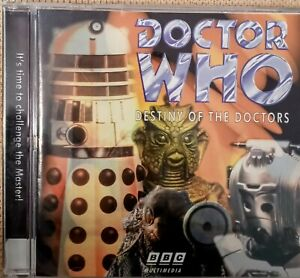 Doctor Who Destiny of the Doctors Classic 1997 PC CD ROM Game BBC Manual