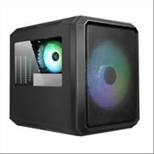 ITEK Case QBO 8 EVO - Micro ATX, USB3, 200+120mm ARGB fan, Card Reader, 3x Trasp