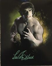 Lou Ferrigno Signed Incredible Hulk Limited Edition Photo With Proof