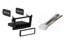 Car Radio Single DIN Stereo Dash Kit + Wiring Harness for 1999-2003 Acura TL CL