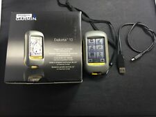 GARMIN Dakota 10 Handheld Touchscreen GPS Receiver Navigator A2941
