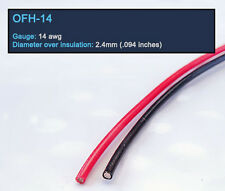 DH Labs OFH-14 Silver-Coated Continuous Crystal™ Copper Hook Up Wire by the ft.