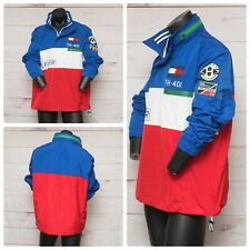 Tommy Hilfiger Mens Sz XL Crew Colorblocked Logo Jacket...
