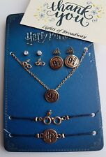 Harry Potter Necklace, Ear Studs Ear Rings Accessories Primark BNWT