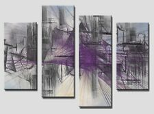 4 PANEL Tot size 90x70cm ABSTRACT ART Large Digital Canvas Print 5  Rare