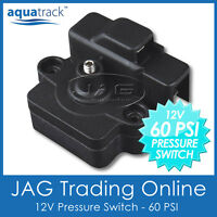 12V 60 PSI PRESSURE SWITCH FOR WATER DIAPHRAGM PUMP - Caravan/Boat/RV/4x4/Galley