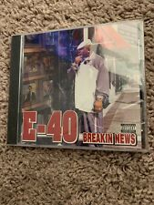 E-40 - Breakin News - CD - Explicit Lyrics - **Brand New** Rate OOP Bay Classic
