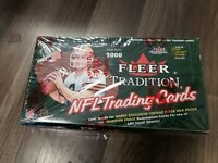 2000 Fleer Tradition rookie Hobby Pack Fresh from Box tom Brady RC year ONE PACK