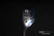 Ping G5 4 Hybrid 22° Regular Left-Handed Graphite Golf Club #4787