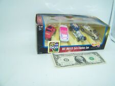 Hot Wheels Timeless Toys 4 Car Set Barbie, Uno, Master of the Universe - 1997