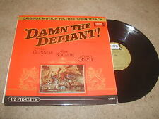 Damn The Defiant Colpex LP MONO Soundtrack 1962 Alec Guiness Clifton Parker