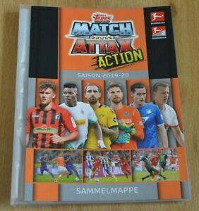 Topps Match Attax Action Bundesliga 19/20 Binder Solution Empty 2019/2020