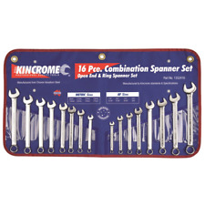 KINCROME 1352416 COMBINATION SPANNER SET 16 PIECE A/F & METRIC
