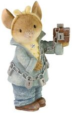 """New ListingEnesco Tails With Heart Jacob Marley Mouse Figurine #6006552 With Box 2.24"""""""