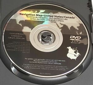 2007 2008 2009 2010 2011 2012 GMC Acadia & Buick Enclave Navigation DVD Map v9.3
