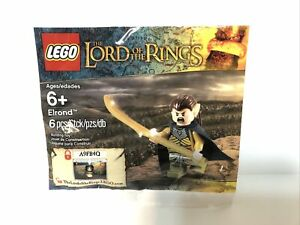LEGO LOTR Lord of the Rings: ELROND (5000202) Promotional Minifigure Polybag NEW