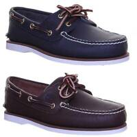 Timberland Mens Leather Boat Shoes Leather Size UK 7 - 12
