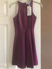 BNWT Elizabeth and James Mirna Laser-Cut Fit & Flare Dress Size 2 Retail $365