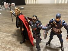 KO SH figuarts Marvel Legends Lot Thor, Captain America, The Falcon READ LISTING