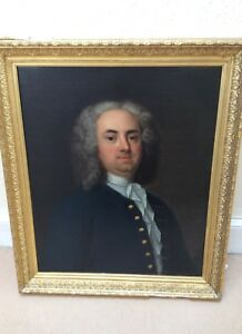 portrait of a gentleman Edmund Hoyle, Circle of James Latham