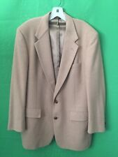 Men's Camel Hair Blazer jacket sz 44 PALM BEACH two button style