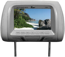 "Tview T726PLGR 7"" Tft/lcd Car Headrest With Monitorpair Gray"