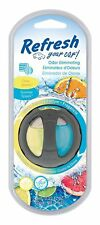 Refresh Your Car Odor Eliminating Scented Oil Wick Air Freshener -Citrus Sparkle